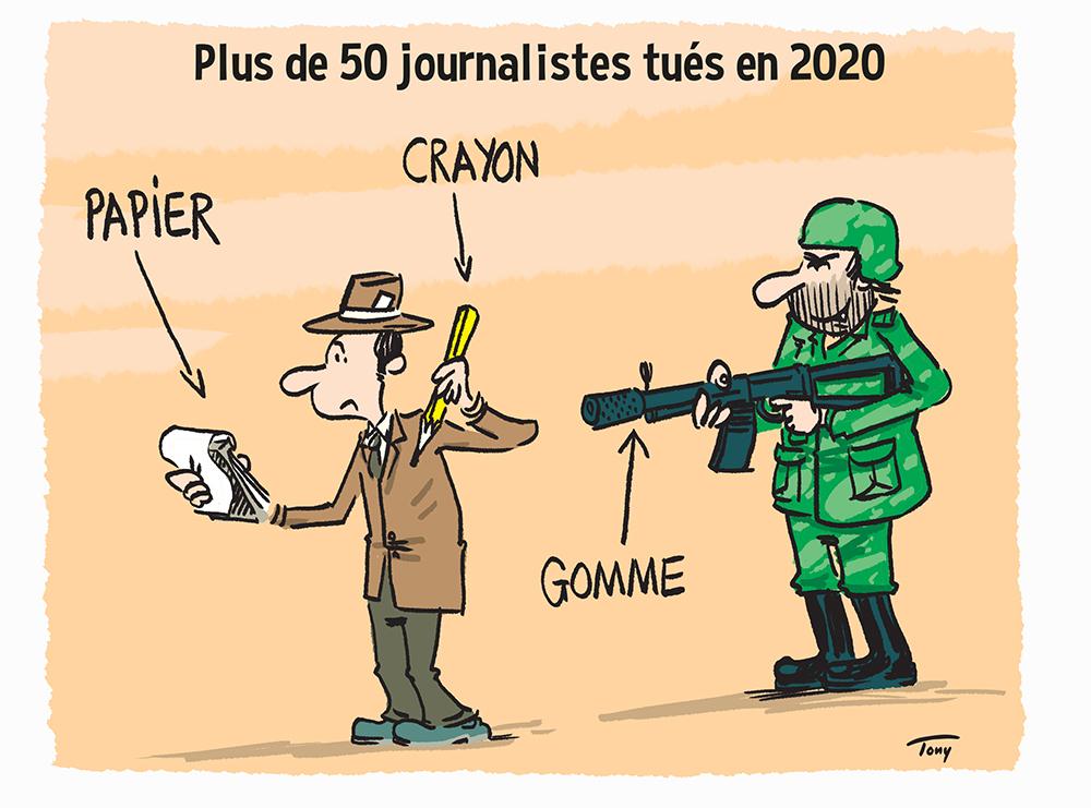 mazette journalistes tues